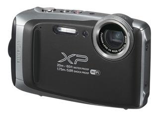 Cámara Fujifilm Xp130 Gris - Todo Terreno