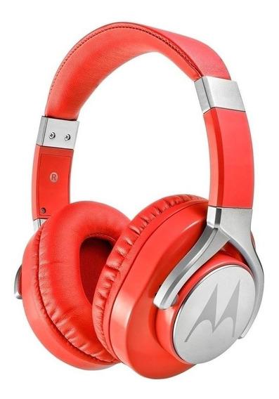 Fone de ouvido Motorola Pulse Max vermelho