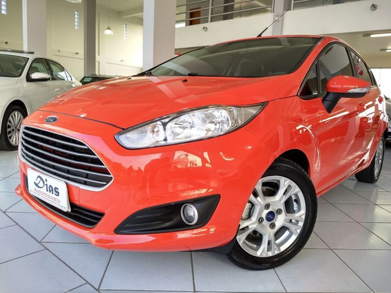 Ford Fiesta 1.6 Se Hatch 16v 2014 Vermelha Flex