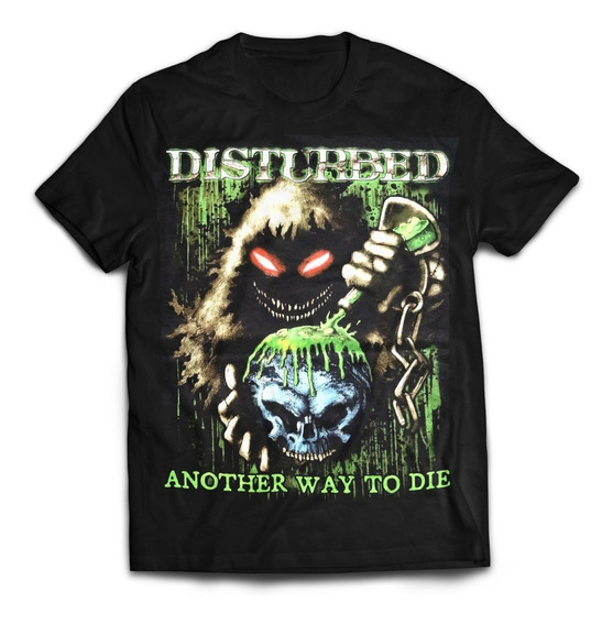 Camiseta Disturbed Importada Rock Activity Talla L