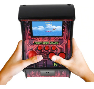 Mini Máquina Arcade Con 200 Juegos