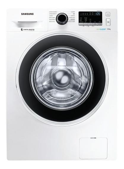 Lavarropas Autom Samsung Frontal 7 Kg Inverter Ww70j4463gw