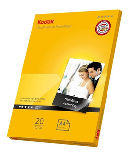 Kodak Ultra Premium/papel Fotográfico 20 Hojas/13x18 5x7 5r