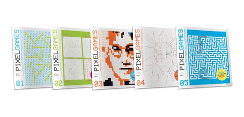 Imagen 1 de 6 de Clarin Colección Pixel Games Set 1 De 5 Ediciones