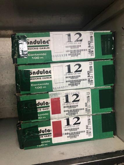 Cable De Cobre Condulac Calibre 12 Rollo De 100 Metross