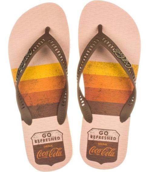 Chinelo Coca Cola Shoes Cc2768 Dedo Masculino