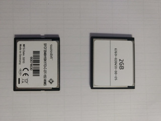Memoria Swissbit Compac Flash 2 Gb Paquete De 15 C. Ind.