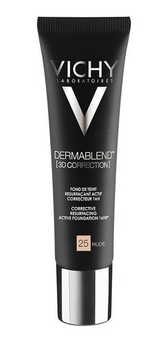 Base Correctora Vichy Dermablend [3d Correction] Nude 25 X 3