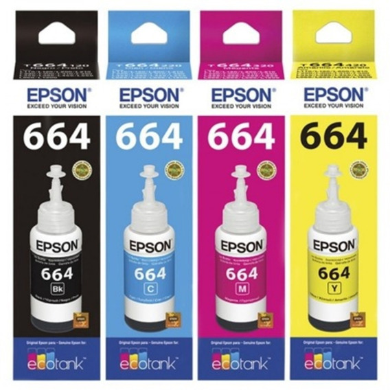 Refil De Tintas Epson 664