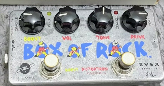 Zvex Box Of Rock - Trocas