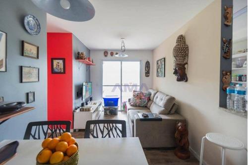 Imagem 1 de 13 de Apartamento Com 3 Dormitórios À Venda, 69 M² Por R$ 345.000,00 - Terraço Darte - Cotia/sp - Ap0266
