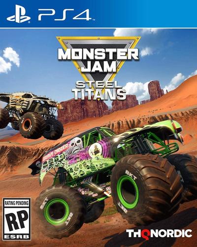 Ps4 Monster Jam Steel Titans / Fisico