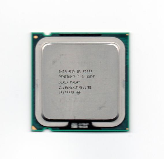 Processador Intel Dual Core E2200 2.20ghz Lga 775 + Frete