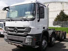 Ultimas Unidades Mercedes - Benz Actros 4141k Modelo 2019