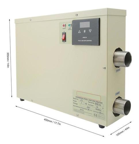 Tarente 1,5 m de Agua el/éctrico 2000W 70 /° C Apagado autom/ático Calentador de inmersi/ón Caldera Cuenca del Viaje del Calentador de la UE
