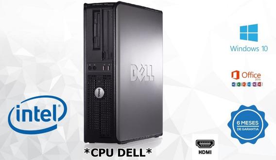 2 Cpu Dell Optiplex Core2duo 4gb Ddr3 Hd 250 C/hdmi