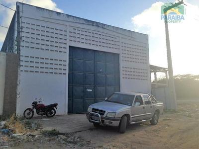 Galpão Comercial Para Locação, Jardim América, Cabedelo. - Ga0004