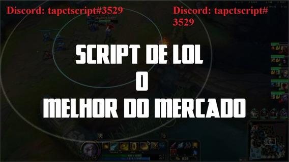 League Of Legends Script 20/07/2020 Funcionando