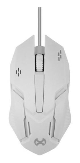 Mouse Mox Mo-me101 Gamer Com Fio - Branco