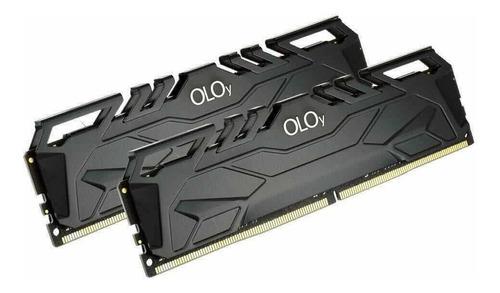 Memoria Ram 16gb Ddr4 2x8gb Oloy 3200mhz Cl16 Oc Xmp Gaming