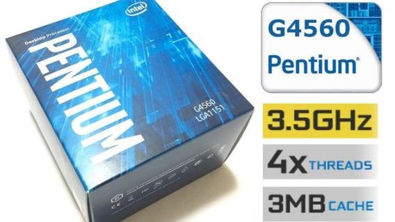 Procesador Intel Pentium G4560 1151 Ticotek