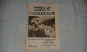 Livro Da Criação De Cabras Leiteiras Ano 1996
