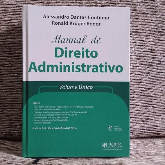 Livro Manual Direito Administrativo Juspodivm