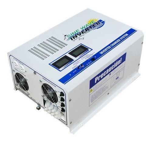Inversor De 4,000 Watts, Onda Senosoidal Pura