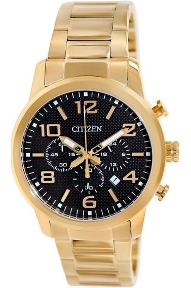 Relógio Citizen Cronógrafo Dourado - An8052-55e