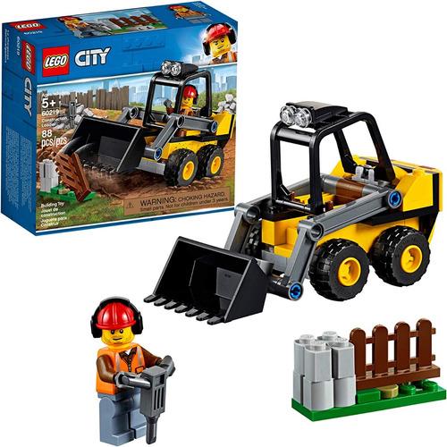 Lego City Kit De Grandes Vehículos 60219 Kit De Const 88 Pza