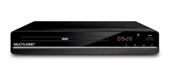 Dvd Player 3 Em 1 Multimídia Usb Multilaser Preto - Sp252.