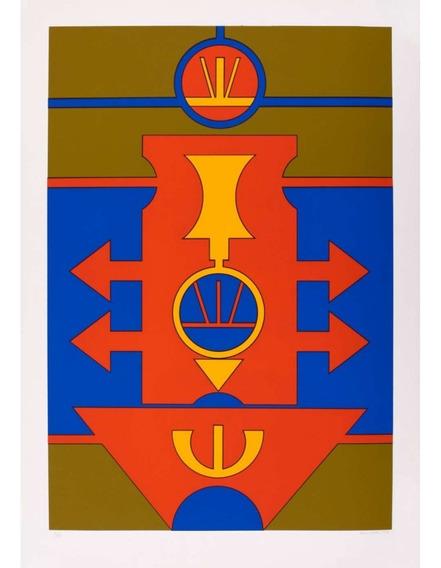 Rubem Valentim - Emblemas 100 X 70 Cm Gravura Ass. Cid