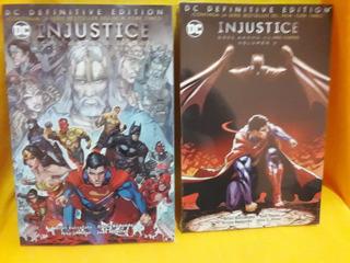 Injustice Año Cuatro - Volumen 1 & 2