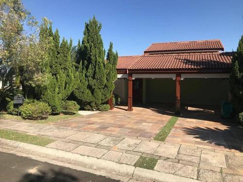 Casa Com 4 Quartos À Venda, 300 M² Por R$ 2.400.000 - Condomínio Jardim Paradiso - Indaiatuba/sp - Ca5295