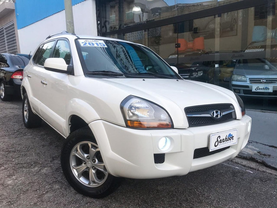 Hyundai Tucson 2.0 Flex Gls Automática Branca - 2015