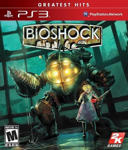 Jogo Novo Lacrado Bioshock Greatest Hits Para Playstation 3