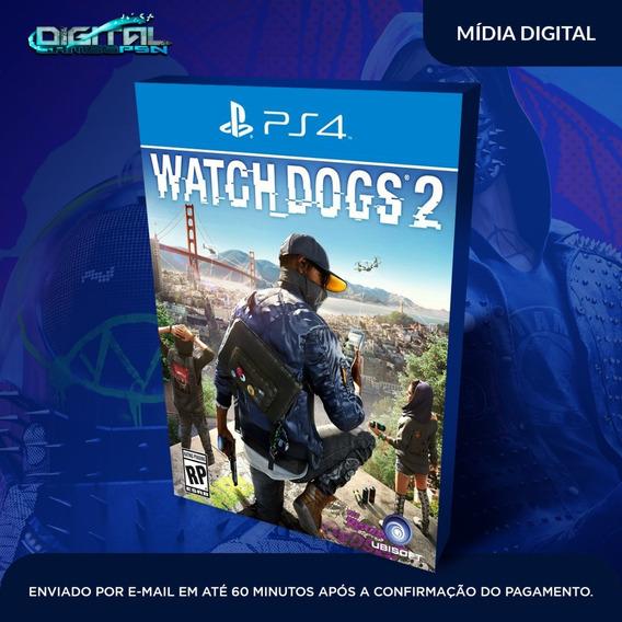 Watch Dogs 2 Ps4 Psn Envio Agora Digital Original