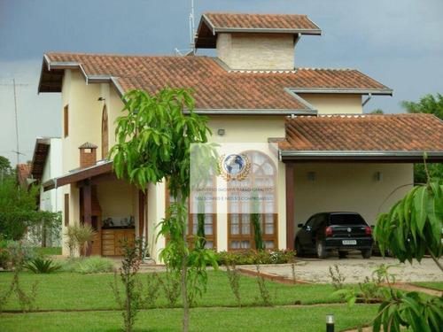 Chácara Com 3 Dormitórios À Venda, 1596 M² Por R$ 800.000,00 - Loteamento Chácaras Vale Das Garças - Campinas/sp - Ch0001