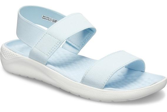 Sandalias Crocs Mujer Literide Playa Relax - Comodas