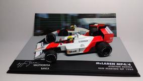 Miniatura Mclaren Mp4/4 Ayrton Senna 1988 Lendas F1 1/43 Ixo