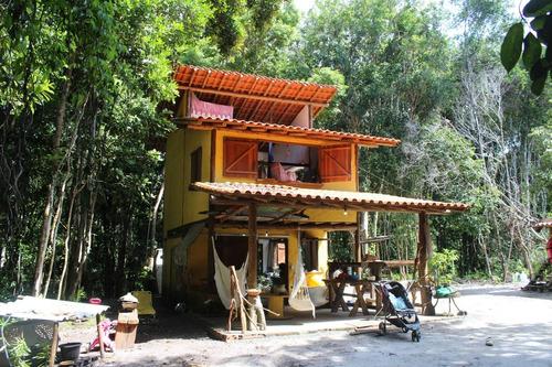 Imagem 1 de 11 de Casa + Terreno De 2ha + Oficinas Em Serra Grande, Sul Bahia