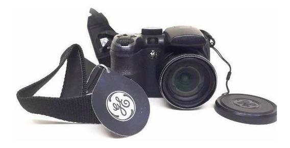 Câmera Semi Profissional Ge X400 + Cartão De Memória