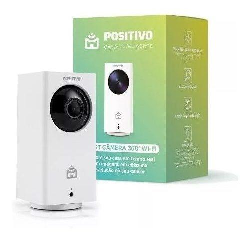 Smart Câmera 360° Wi-fi Positivo Full Hd Comp. C/ Alexa Wifi
