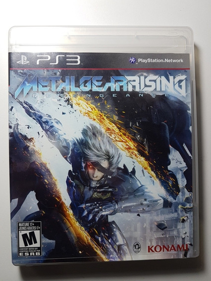 Metal Gear Rising Revengeance Ps3 Mídia Física