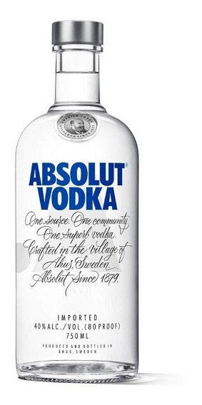 Absolut Vodka Original Sueca - 750ml