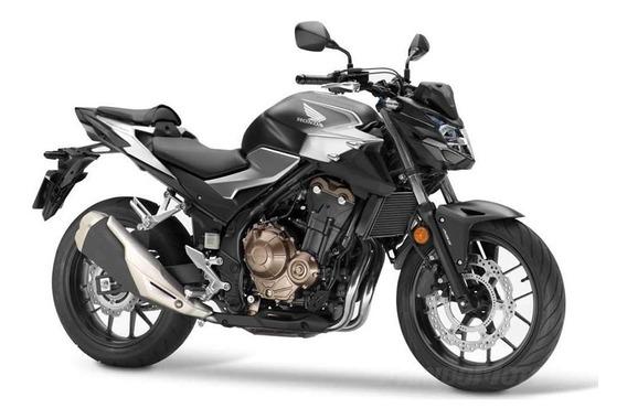 Moto Honda Cb 500 F 0km 2020 Negro