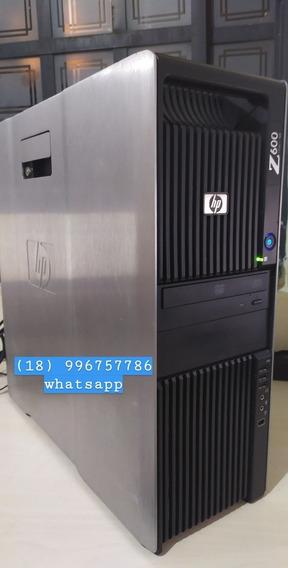 Workstation Hp Z600 Xeon 8 Nucleos+8gb Ddr3 Ecc+ 2x 500gb