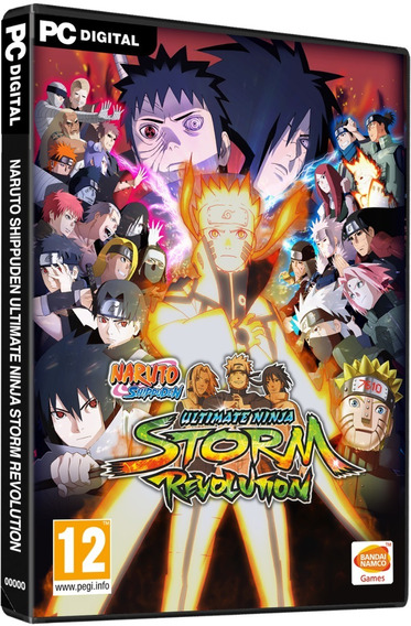 Naruto: Ultimate Ninja Storm Revolution Pc Steam 15 Dígitos