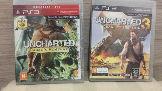 Uncharted 1 + Uncharted 3