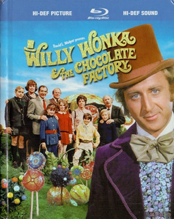 Willy Wonka La Fabrica De Chocolate Digibook Pelicula Bluray